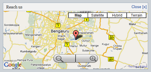 The google map centering problem in ie